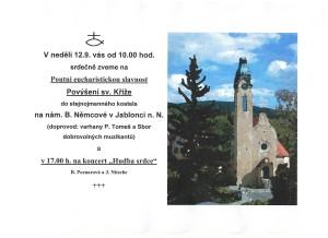 Patrocinium Jablonec n.N. 2021